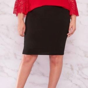The Limited Stretch Pencil Skirt, Size 8